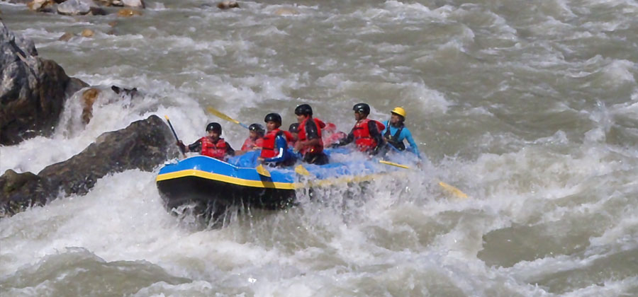 Trishuli River day rafting trip