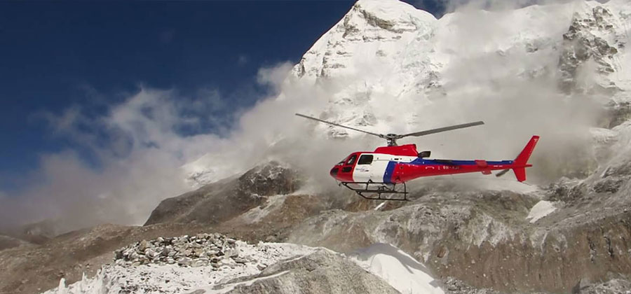 Helicopter Tour in Nepal